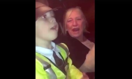 "Video Of A Grandmother Teaching Her Grandson A Hate Speech Goes Viral "" You F**king Black C*unt"""