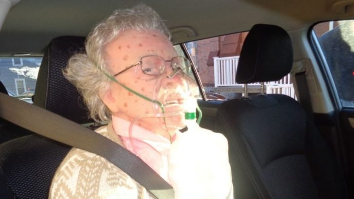"New York's Hudson Police Rescue ""Frozen"" Elderly Woman Who Turned Out To Be A Mannequin"