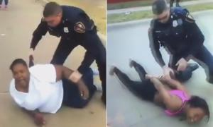 Texas Cop Arrest Black Mother & Daughter For Making A Complaint Aginst White Racist Man For Choking Her 7-Year Old Son