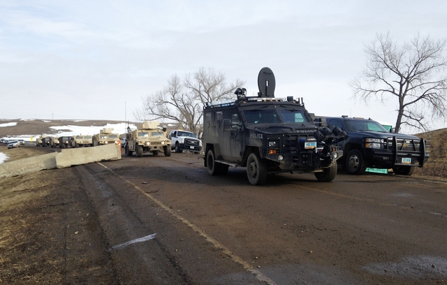 The U.S Military Just Evicted the Sioux Tribe From Standing Rock At Gun Point