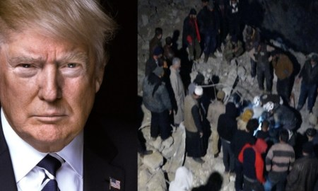 Breaking News: Trump Just Ordered Attack on A Mosque In Syria Killing 57 Innocent People As 300 people Were Praying