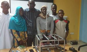 Robots Built By Gambian Students Will Be Shipped To Washington But The Student Team Was Denied Visas To Enter The U.S
