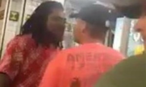 Black Guy Gets Attacked By Racist White Guy In A Restaurant, It Doesn't End Well For The Racist!