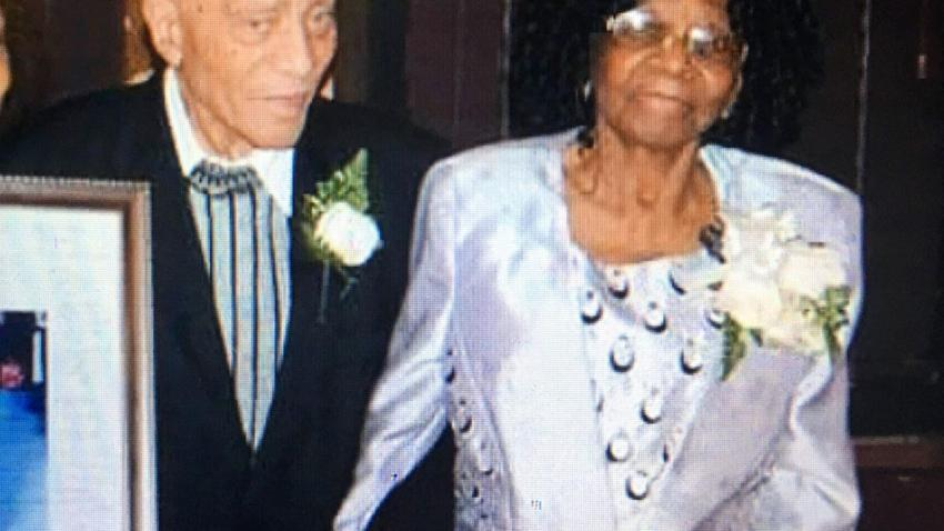 Ethlin Thompson and husband