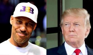 LaVar Ball Tweeted A Video Of Himself Dunking On Trump & Sent Him A Pair Of His Gym shoe Brand