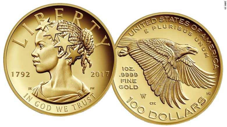 There Will Be A Black Lady Liberty On A U.S Coin For The First Time Ever In History