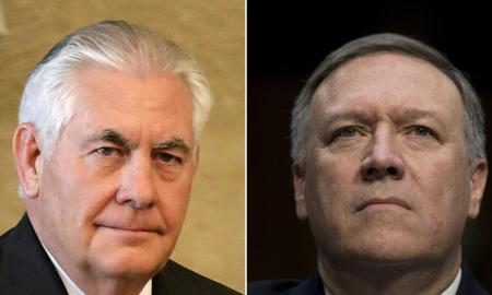 Trump Fires Secretary Of State Rex Tillerson and Looking To Replace Him With Mike Pompeo