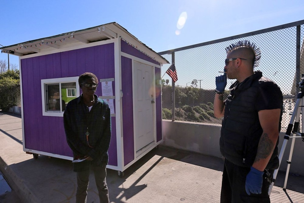 Tiny Homes For The Homeless Are Being Seized In Los Angeles