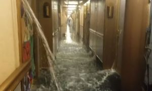 Water Line Break Causes Flood On Carnival Cruise Ship That Departed From New Orleans