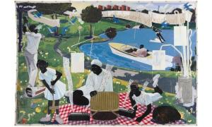 Chicago Artist Kerry James Marshall's Painting Sold To Hip Hop Mogul P. Diddy For $21 Million