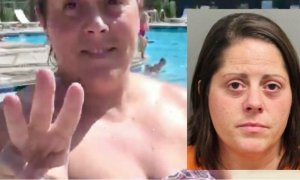 White Woman Who Attacked Black Teen At Pool In Racist Rant Arrested Has Bond Set At $65K She Also Bit Arresting Cop