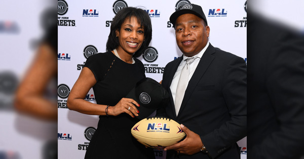 Black Power Couple Owns NY First Ever Black-Owned Professional Sports Football Team