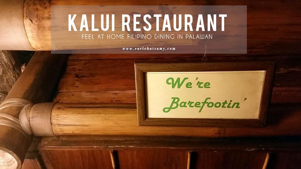 Kalui restaurant palawan