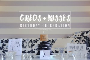 Oreo Kisses Birthday
