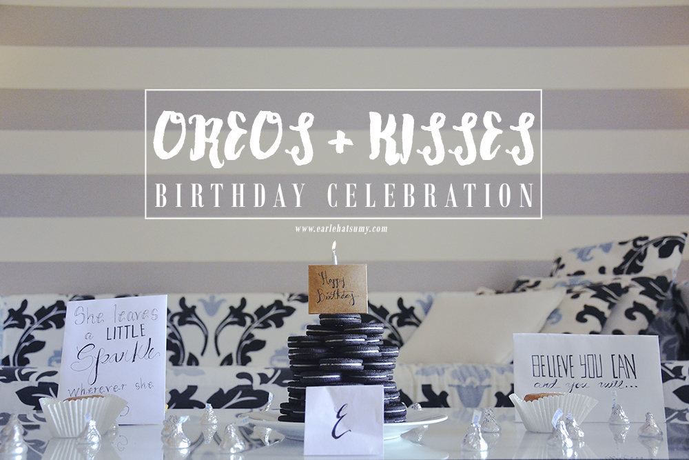 Oreo Kisses Birthday