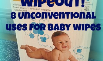 WIPEOUT! 8 Unconventional Ways to Use Baby Wipes