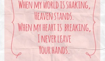 Scripture and a Song – Your Hands