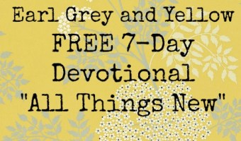 FREE 7-DAY DEVOTIONAL: All Things New