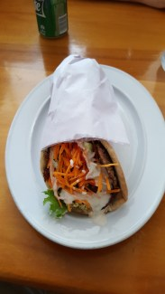 A lamb kebab at Jabie's and it only cost $11 NZD!!