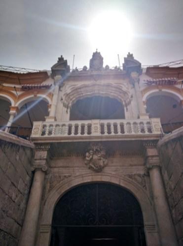 Stierkampf Sevilla Eingang