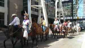 印地安人遊行隊伍