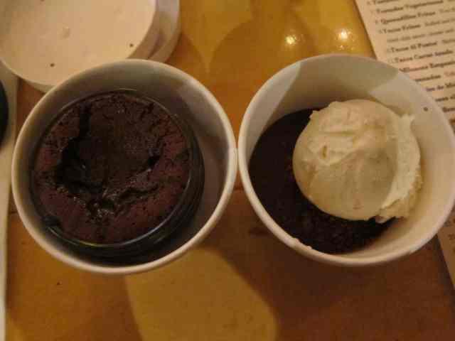 molten chocolate cake dark decadence seattle