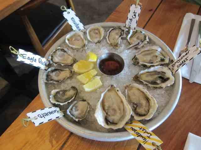 oyster westward seattle