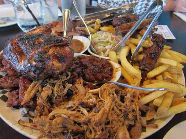Big T's platter