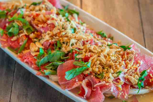 vietname style beef tataki