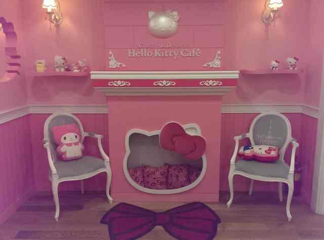 Hello Kitty Cafe Seoul 4