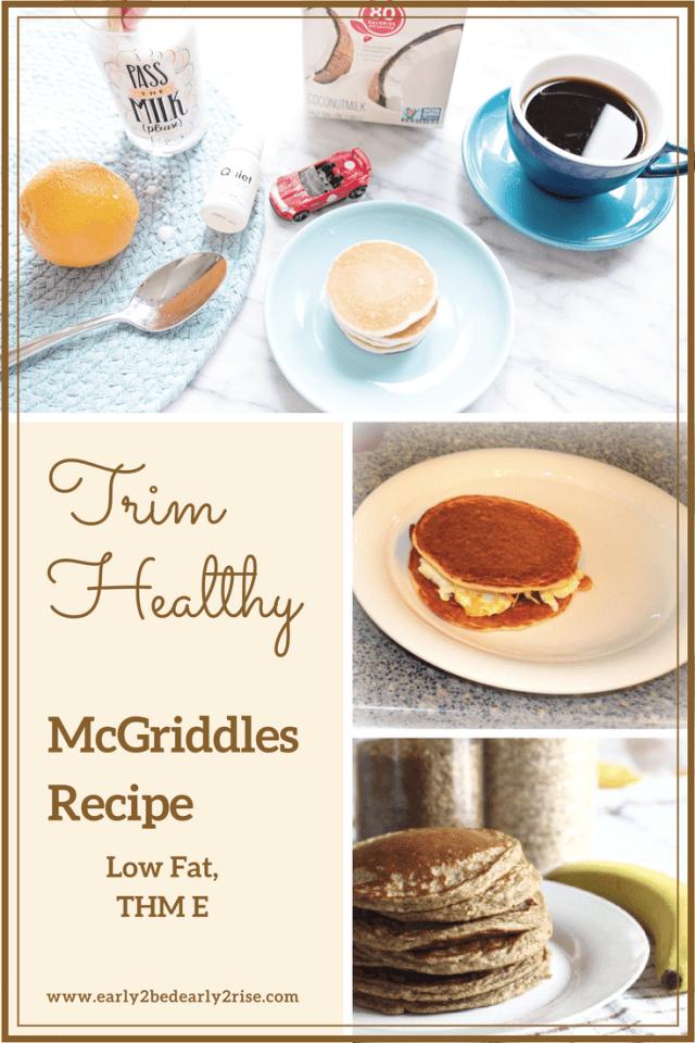 Trim Healthy McGriddles Recipe