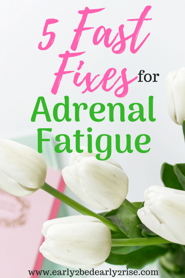 Fixes for Adrenal Fatigue Symptoms