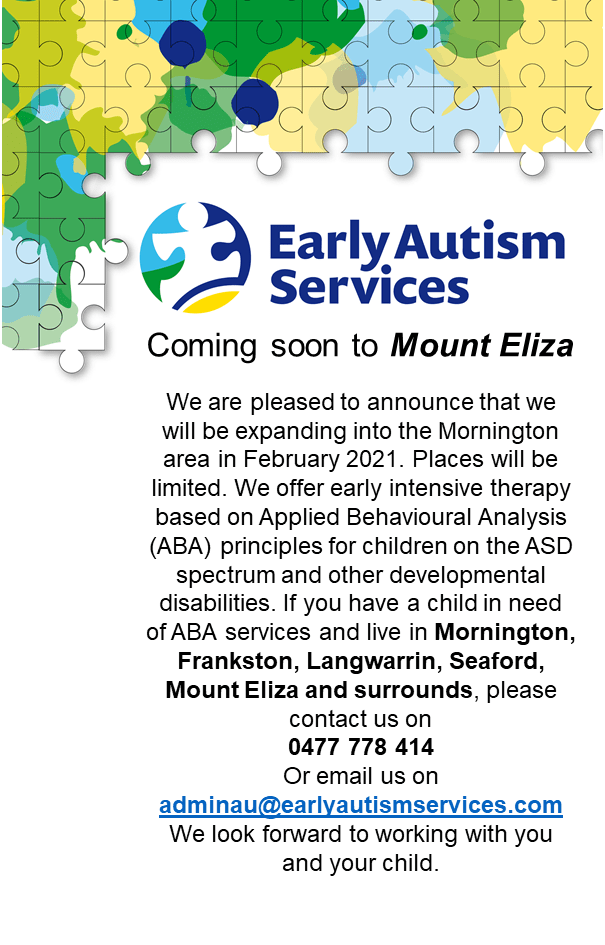 Early Autism Services Mount Eliza