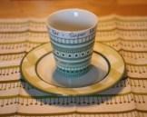 1) gefrühstückt... ohne Kaffe geht gar nix