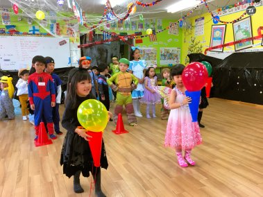 Halloween Party 2018 A Course (16)
