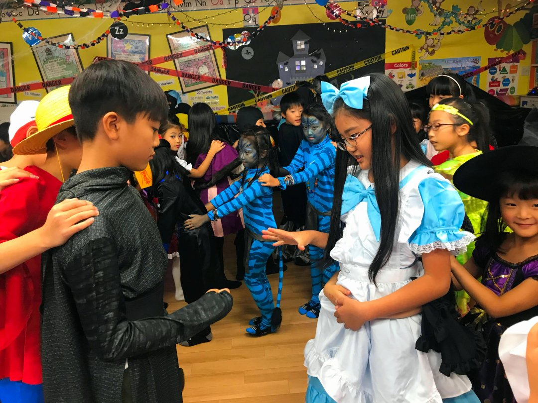 Halloween Party 2018 B Course (5)