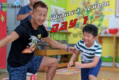 Summer school day 1 cover