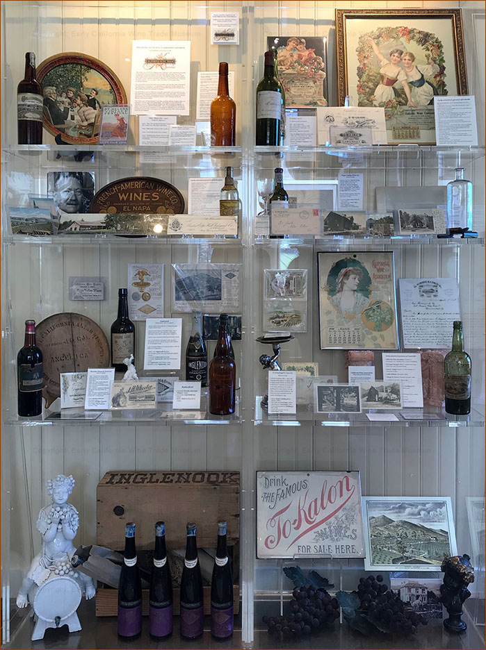 Display pre-Prohibition wineries