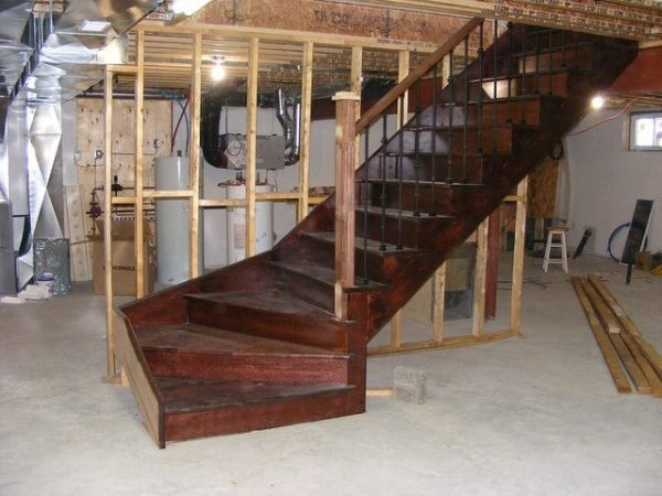 Basement Staircase Installation Costs Updated Prices In 2020 | Staircase Companies Near Me | Stair Parts | Floating Staircase | Spiral Staircase | Stair Railing | Stair Lift