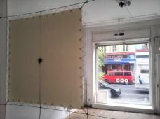 Installationsansicht Innenraum Außenraum