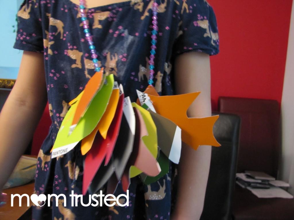 Pantone Leaf Necklace