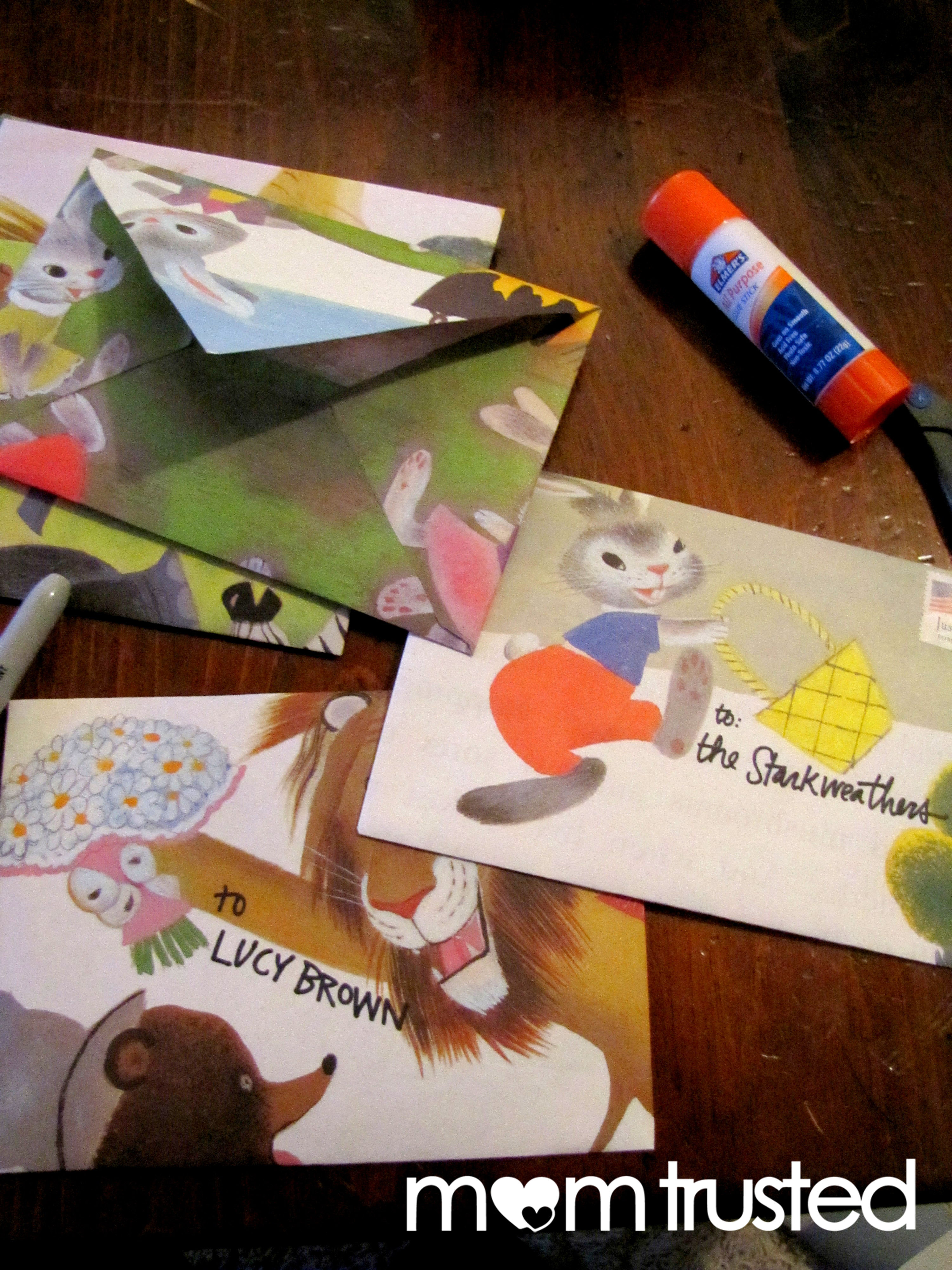 Recycled Storybook Stationarypreschool Activities And