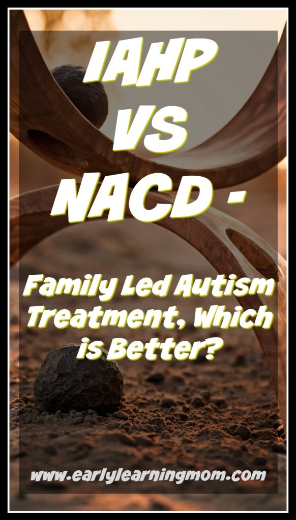 IAHP vs NACD Family Led autism treatment, which is better?