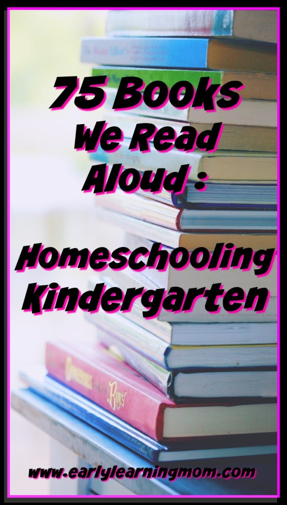 75 books we read aloud