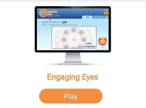engaging eye
