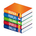 Foreign Language Book Stack