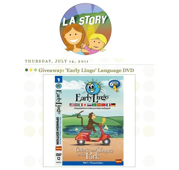 L.A. Story Product Review of Early Lingo and Giveaway