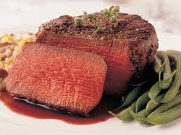 Wasabi Crusted Filet Mignon