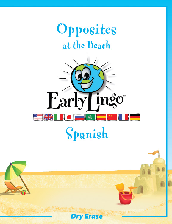 Early Lingo Workbook Opposites SPANISH
