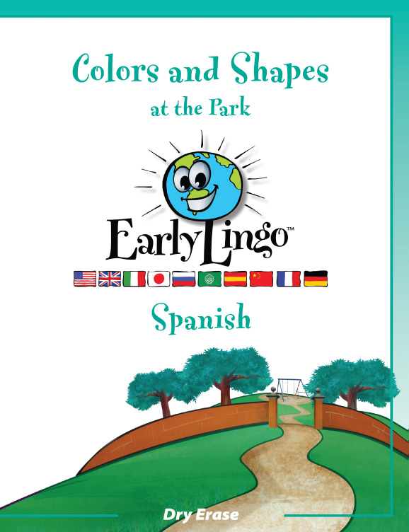 Early Lingo Workbook Colors and Shapes SPANISH